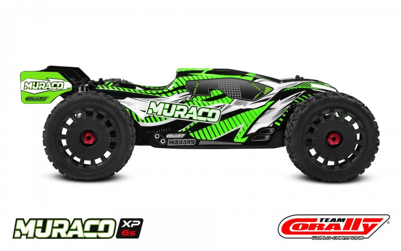 Image 1 of Corally Muraco XP 6S 1/8 Truggy LWB RTR Brushless Power 6S