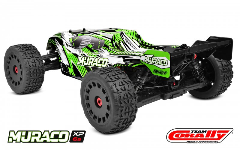 Image 2 of Corally Muraco XP 6S 1/8 Truggy LWB RTR Brushless Power 6S