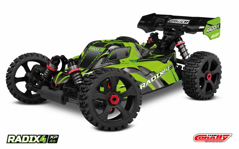 Image 0 of Corally 1/8 Radix4 XP 4WD 4S Brushless RTR Buggy (No Battery or Charger)