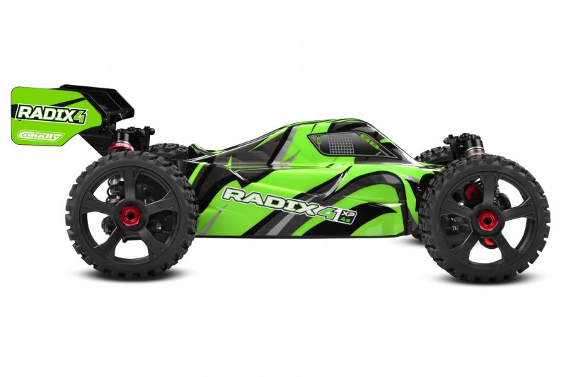 Image 2 of Corally 1/8 Radix4 XP 4WD 4S Brushless RTR Buggy (No Battery or Charger)