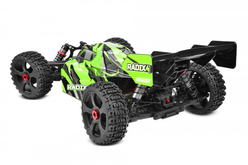 Image 3 of Corally 1/8 Radix4 XP 4WD 4S Brushless RTR Buggy (No Battery or Charger)