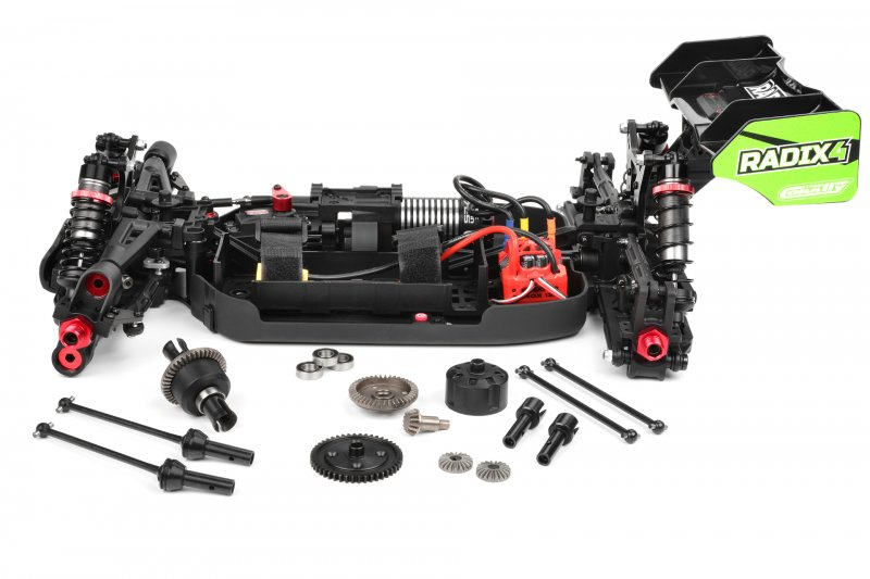 Image 4 of Corally 1/8 Radix4 XP 4WD 4S Brushless RTR Buggy (No Battery or Charger)