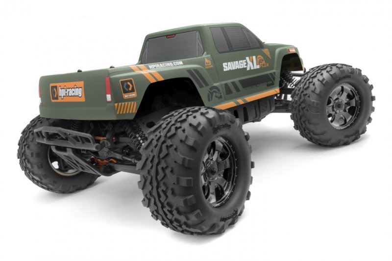Image 0 of HPI SAVAGE XL Flux GTXL-1 Monster Truck RTR, 1/8 Scale, 4WD, Brushless ESC, w/ 2