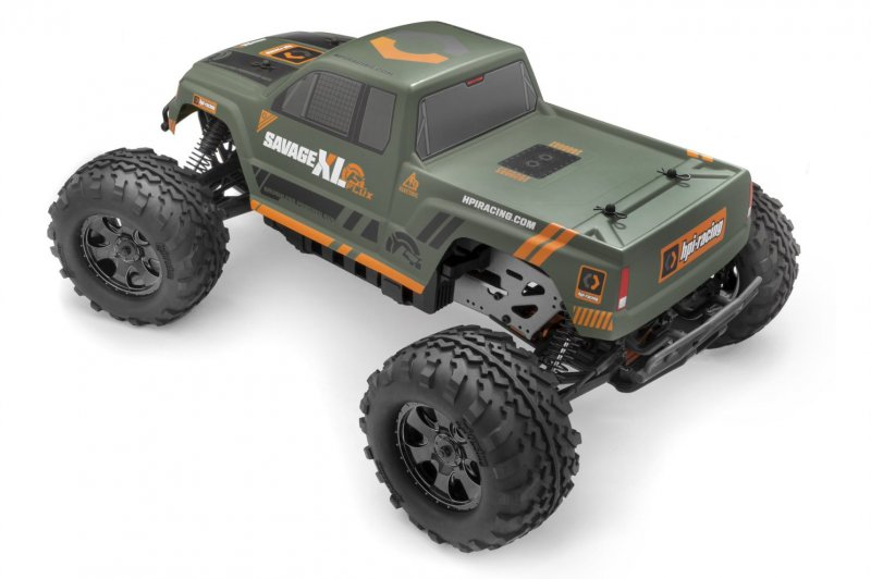 Image 1 of HPI SAVAGE XL Flux GTXL-1 Monster Truck RTR, 1/8 Scale, 4WD, Brushless ESC, w/ 2
