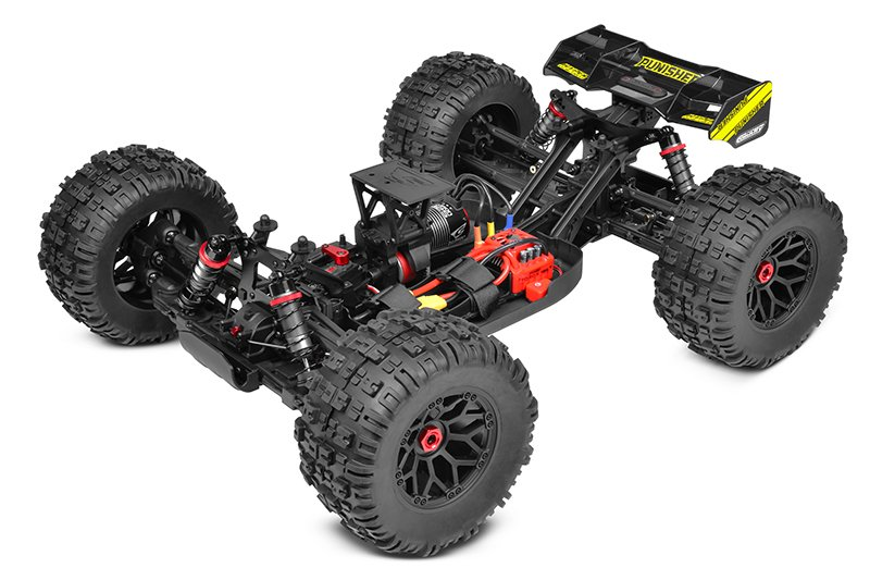Image 2 of Corally Punisher XP 6S 1/8 Monster Truck LWB RTR Brushless