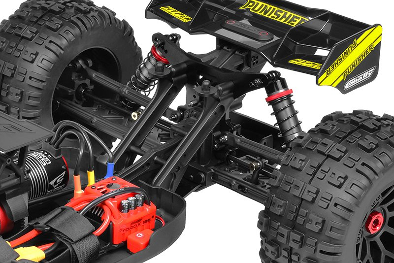 Image 6 of Corally Punisher XP 6S 1/8 Monster Truck LWB RTR Brushless