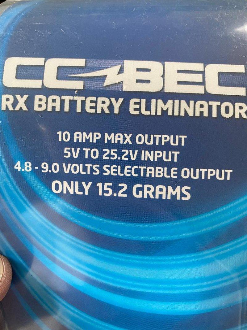 Image 1 of Castle Creations BEC 10A PEAK 25V MAX INPUT SBEC