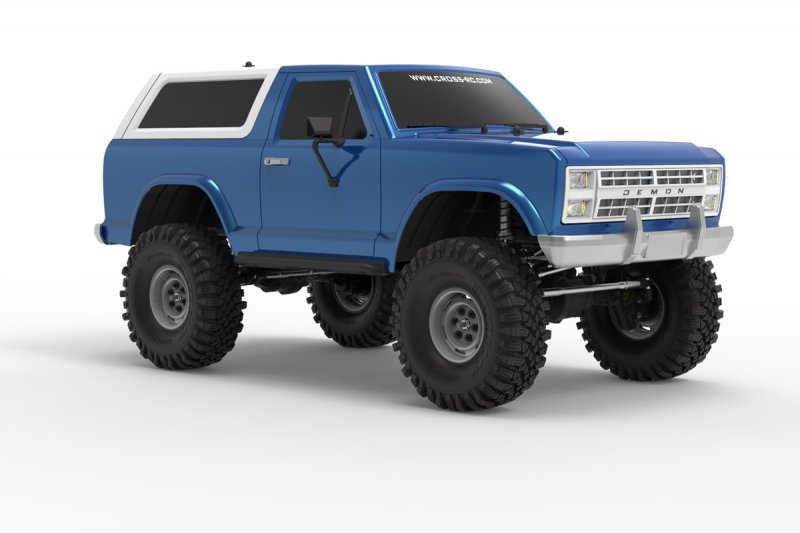 Image 5 of CROSS RC NEW AT4 1/10 EMO 4x4 RTR Crawler - Blue