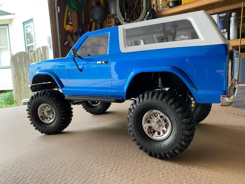 Image 1 of CROSS RC NEW AT4 1/10 EMO 4x4 RTR Crawler - Blue