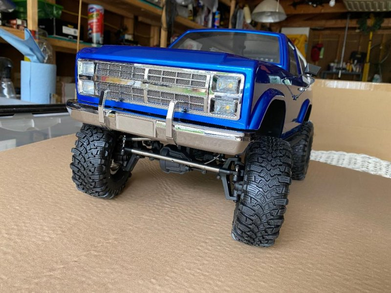 Image 0 of CROSS RC NEW AT4 1/10 EMO 4x4 RTR Crawler - Blue