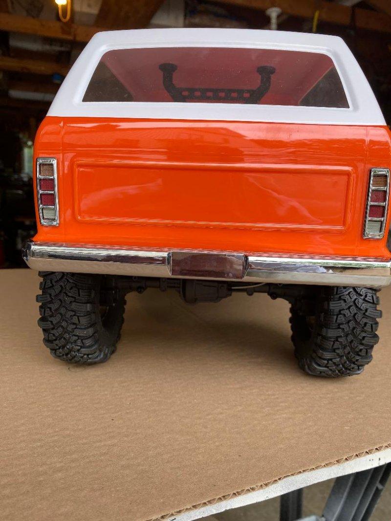 Image 2 of CROSS RC NEW AT4 1/10 EMO 4x4 RTR Crawler - Orange