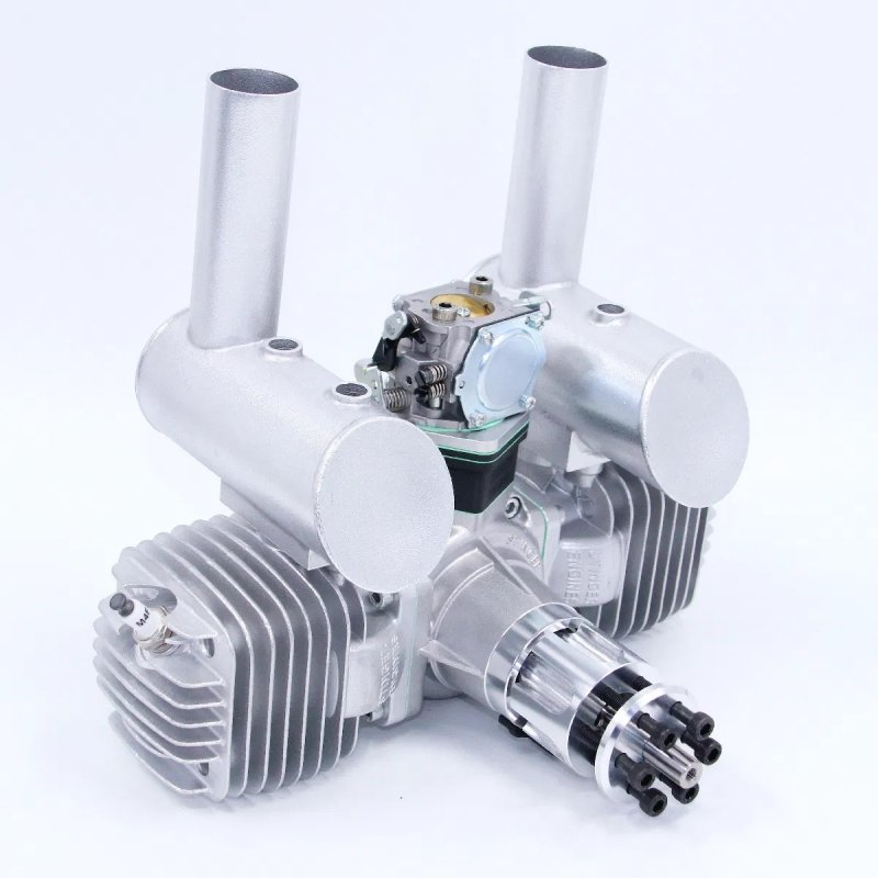 Image 1 of RCGF Stinger 125cc TWIN Gasoline model aircraft engine