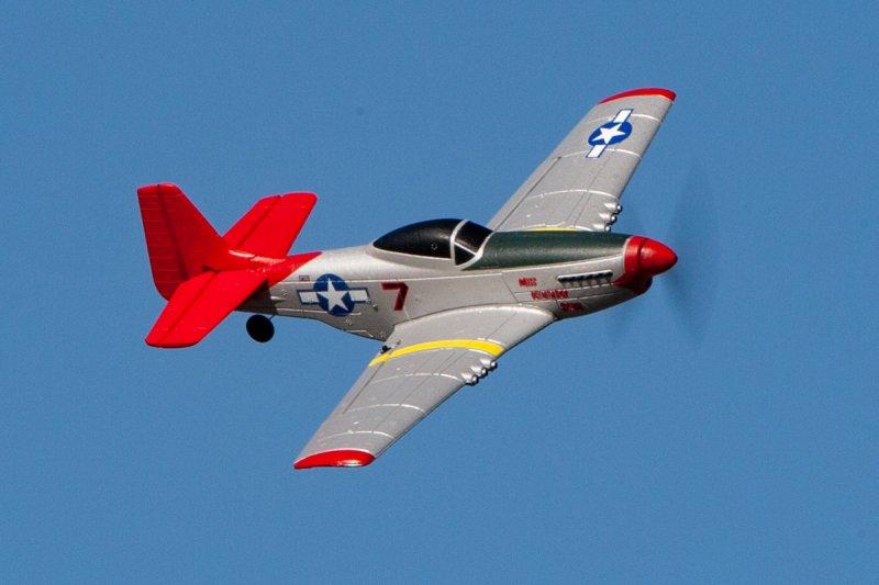Image 3 of RAGE P-51D Mustang Micro RTF Airplane w/PASS