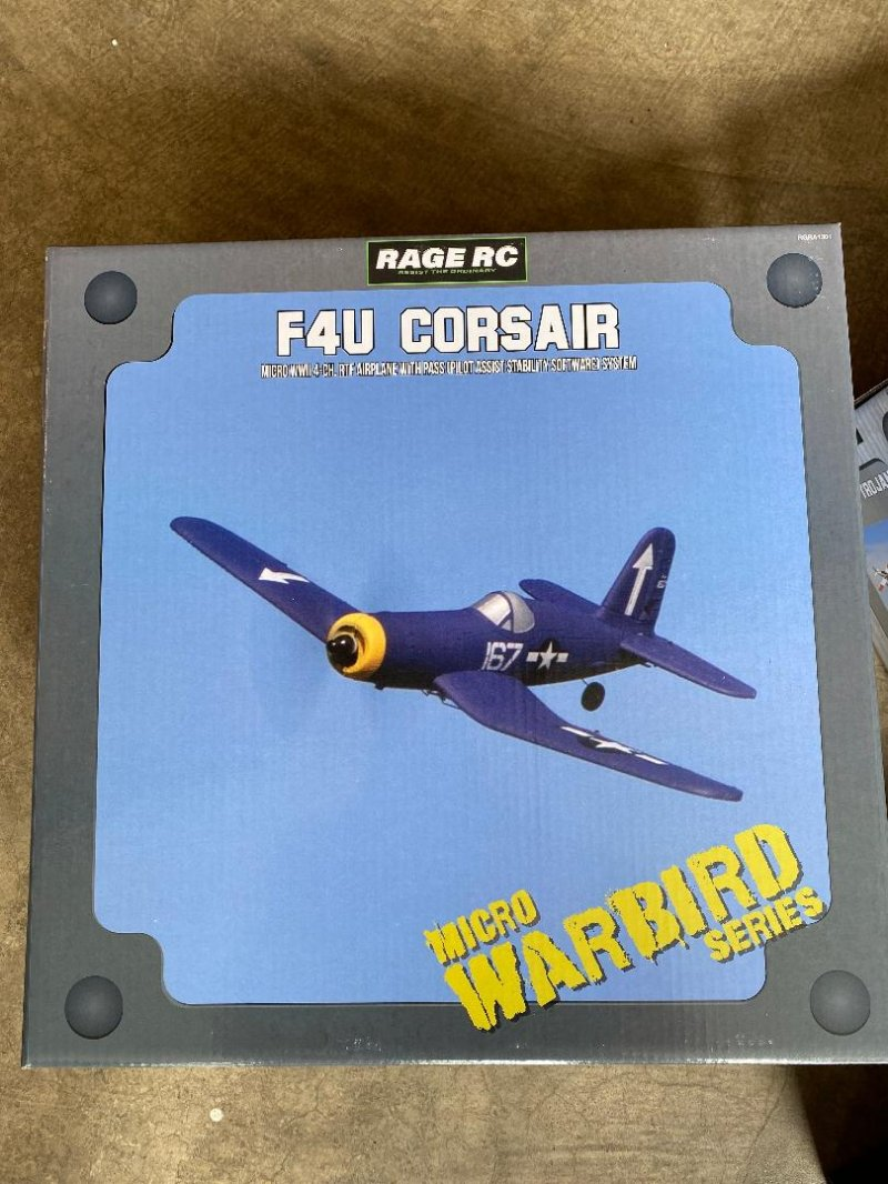 Image 0 of RAGE F4U Corsair Micro RTF Airplane w/PASS