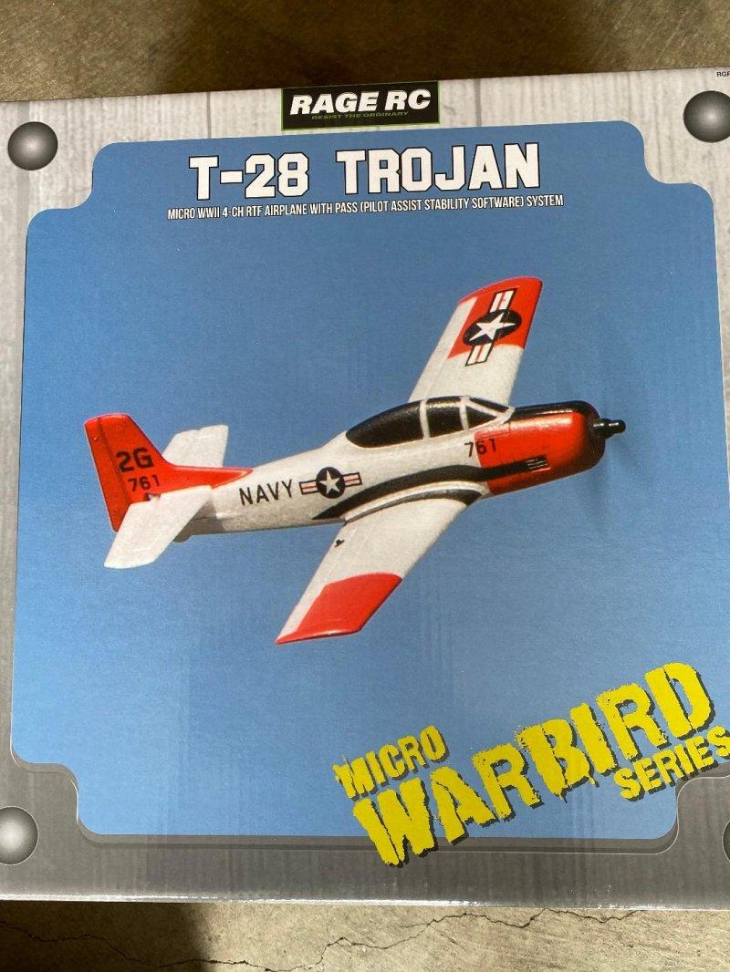 Image 0 of RAGE T-28 Micro RTF Airplane w/PASS
