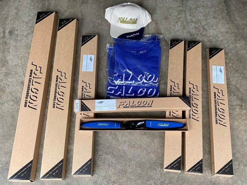 Image 0 of Falcon Carbon Fiber props all brand new in respective packaging.