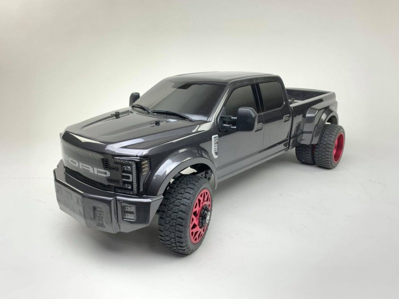 Image 0 of CEN Ford F450 1/10 4WD Solid Axle RTR Truck - Grey
