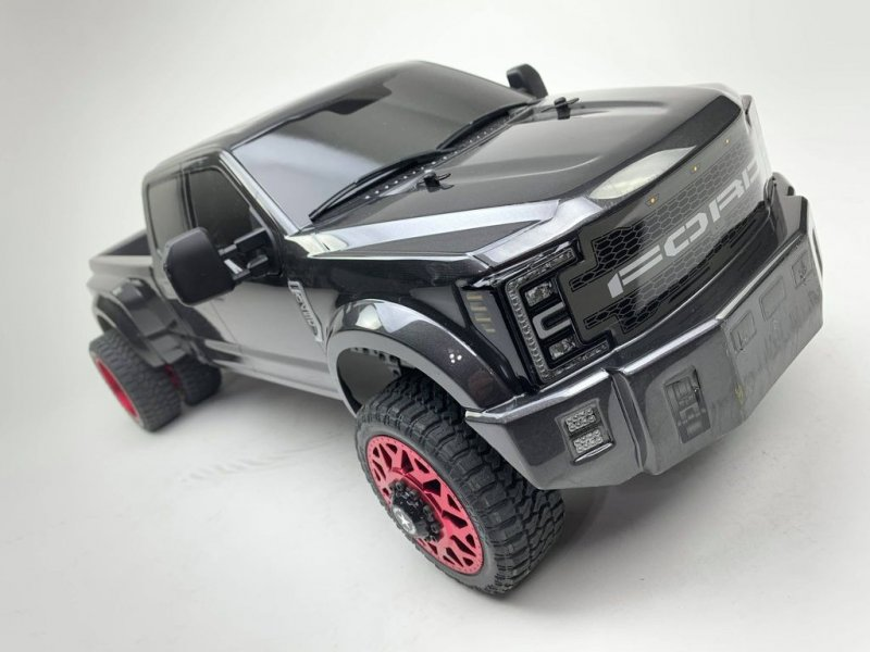 Image 1 of CEN Ford F450 1/10 4WD Solid Axle RTR Truck - Grey