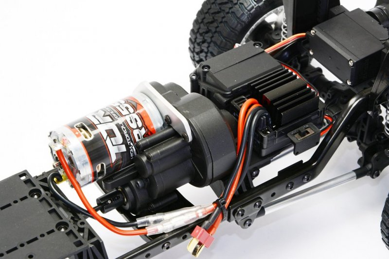 Image 2 of CEN Ford F450 1/10 4WD Solid Axle RTR Truck - Grey