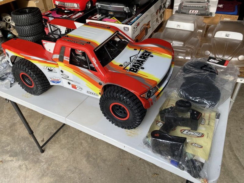 Image 0 of Losi Super Baja Rey SBR 2.0 8S Brushless 1/6 RTR Desert Truck King Racing New!!