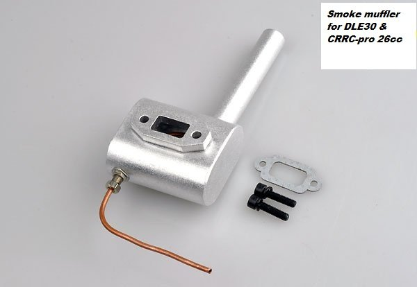 Image 0 of Smoke muffler for DLE 30cc size engines