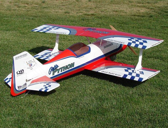 Image 0 of Aeroworks 50cc Pitts Python ARF-QB