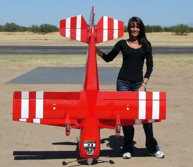 Image 3 of Aeroworks 50cc Pitts Python ARF-QB