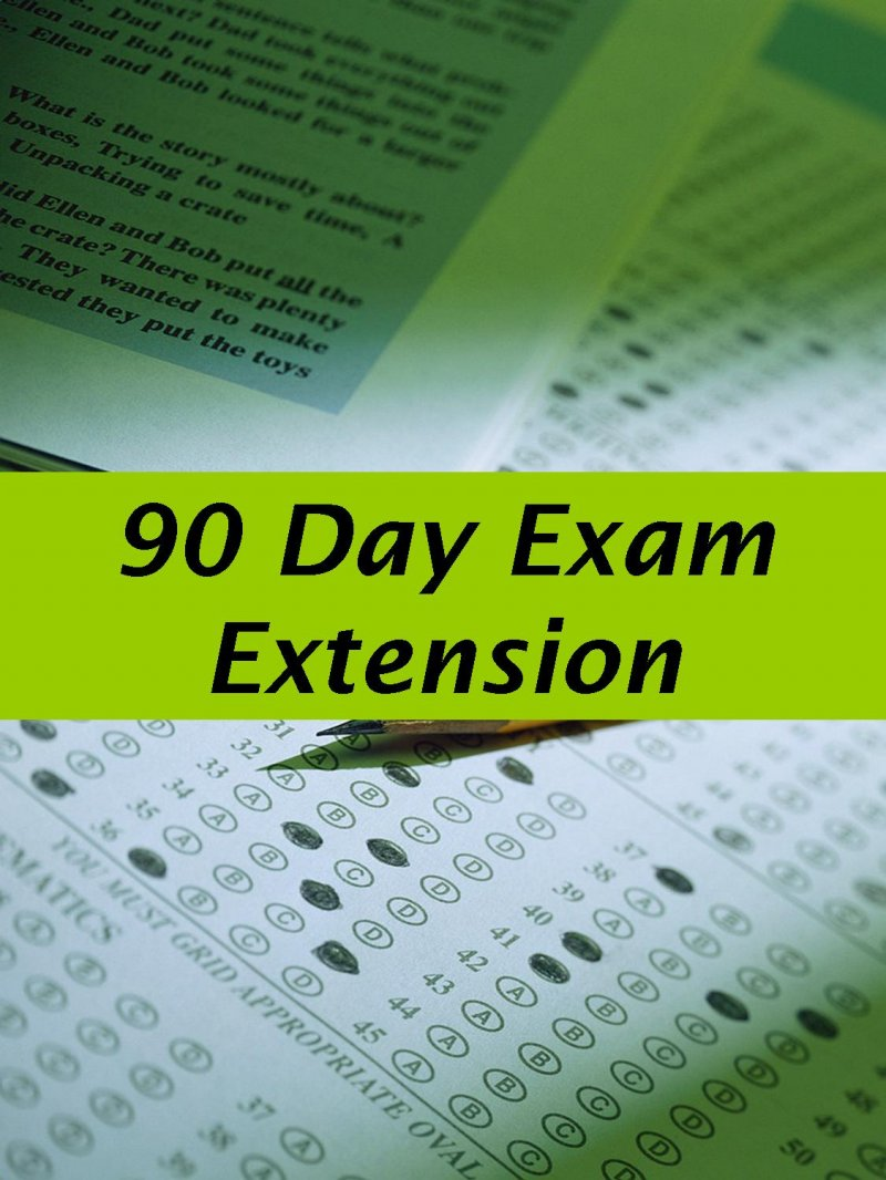 Image 0 of NS 90 Day Exam Extension