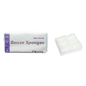 12-Ply non sterile gauze sponges