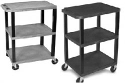 Flat Shelf utility cart