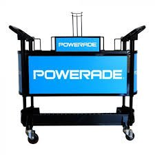 Powerade sideline cart