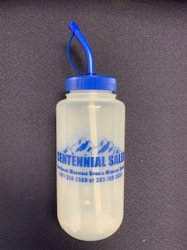 Centennial Sales Water bottle w/ straw