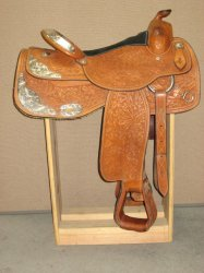 Thumbnail of Champion Turf Used 16 Competitor Show Saddle, Model #5328