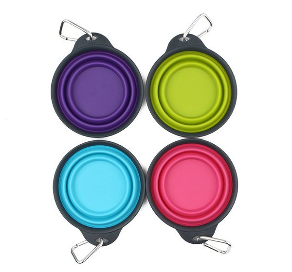 Dexas Popware Collapsible Travel Cup with Carabiner