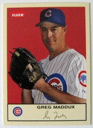 Thumbnail of 2005-Greg Maddux-Fleer Tradition-14-Baseball Card