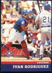 Thumbnail of 2001-Ivan Rodriguez-Post-15-Baseball Card