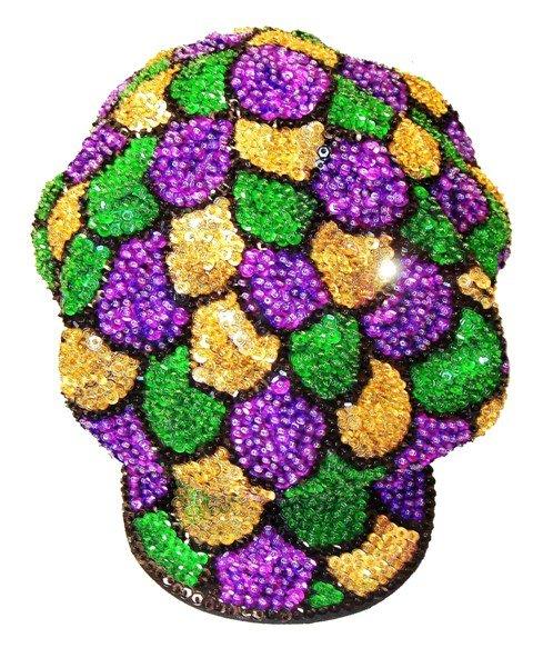 Image 0 of Sequin Brando Cap Mardigra Shell (HAT03)