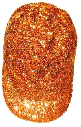Image 0 of Sequin Baseball Cap Copper