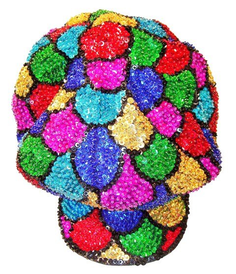 Image 0 of Sequin Brando Cap Mosaic Shell (HAT03)