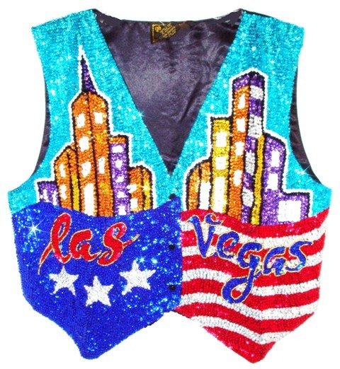 Image 0 of Sequin Vest Las Vegas
