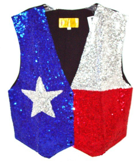 Image 0 of Sequin Vest Lone Star For Kids