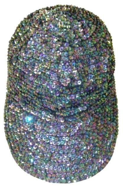 Image 0 of Sequin Baseball Cap Peacock For Boys/Girls