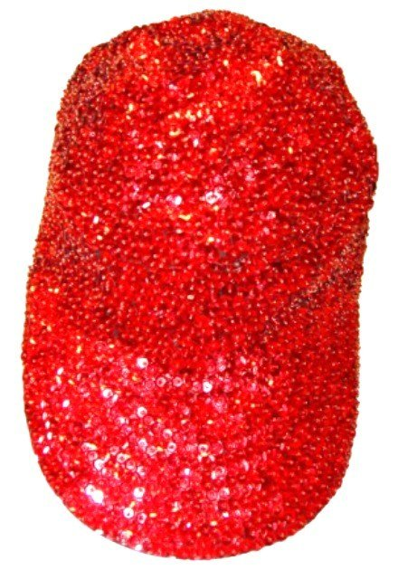 Image 0 of Sequin Baseball Cap Red For Boys/Girls