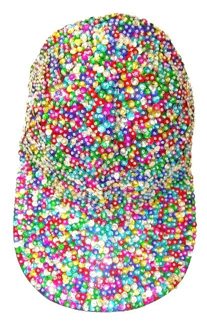 Image 0 of Sequin Baseball Cap Lite Multi For Boys/Girls