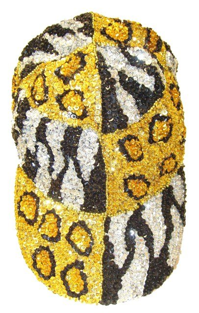Image 0 of Sequin Baseball Cap Tiger/Leopard For Boys/Girls