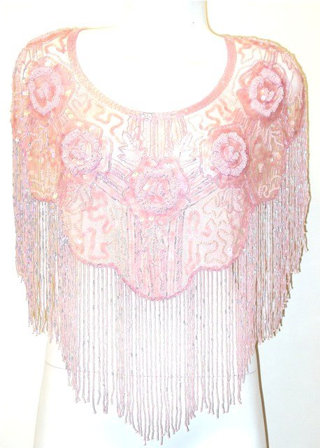 Thumbnail of Sequin Shawl/Wrap #1006 Pink