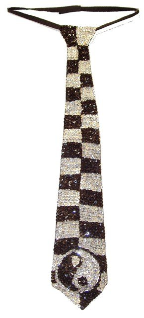 Image 0 of Sequin Neck Tie Yin-Yen