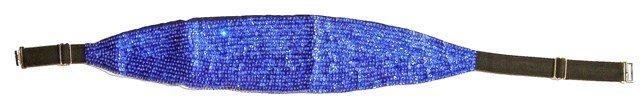 Image 0 of Sequin Cummerbund Belt Royal Blue