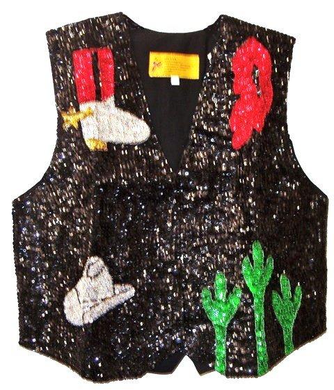 Image 0 of Sequin Vest Southwestern