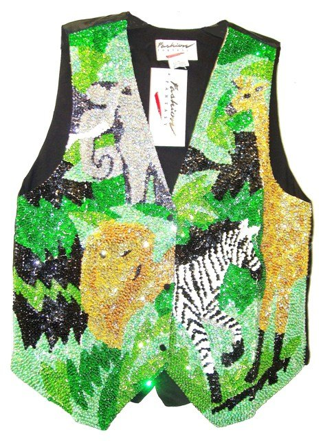 Image 0 of Sequin Vest Super Safari
